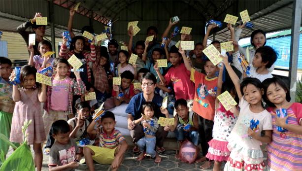 カンボジアの子どもたちに私たちができること